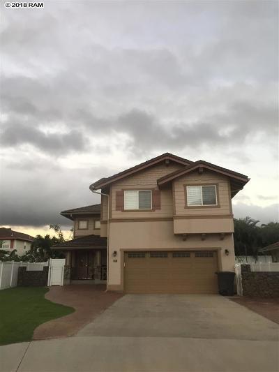 Kahului HI Single Family Home For Sale: $812,473