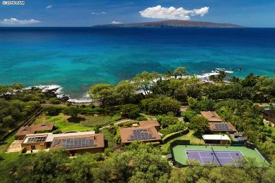 Kihei HI Single Family Home For Sale: $12,000,000