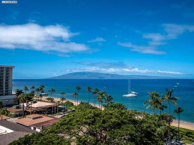 Whaler Condo/Townhouse For Sale: 2481 Kaanapali Pkwy #973