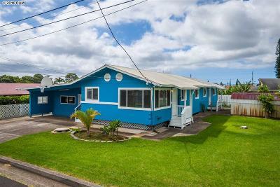 Makawao Single Family Home For Sale: 729 Onipaa Pl