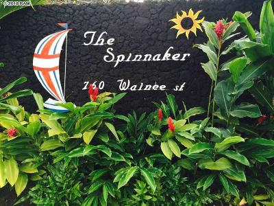 Lahaina Condo/Townhouse For Sale: 760 Wainee St #B-113