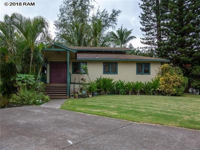 Single Family Home For Sale: 2780 Olulani St