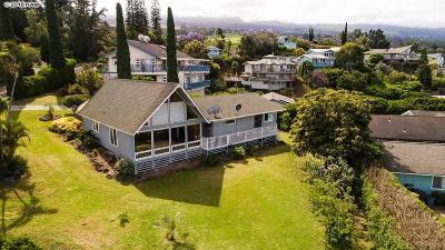 Single Family Home For Sale: 112 Ka Dr