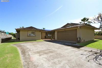 Wailuku Single Family Home For Sale: 1400 Kakae St