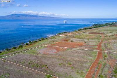 Lahaina Residential Lots & Land For Sale: Waianukole St #Lot 5