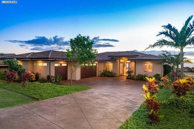 Single Family Home For Sale: 697 Anapuni Loop