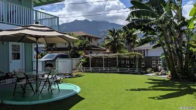 Wailuku Single Family Home For Sale: 1119 Hoalu Pl