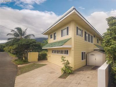 Single Family Home For Sale: 55 Naniluna Pl