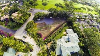 Maui County Residential Lots & Land For Sale: 11 Malukai Ln #Lot 1