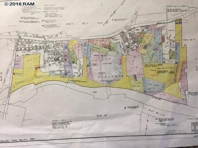 Wailuku Residential Lots & Land For Sale: S Piihana Rd