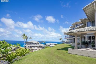 Kapalua Bay Villas Condo/Townhouse For Sale: 500 Bay Dr #31-G1