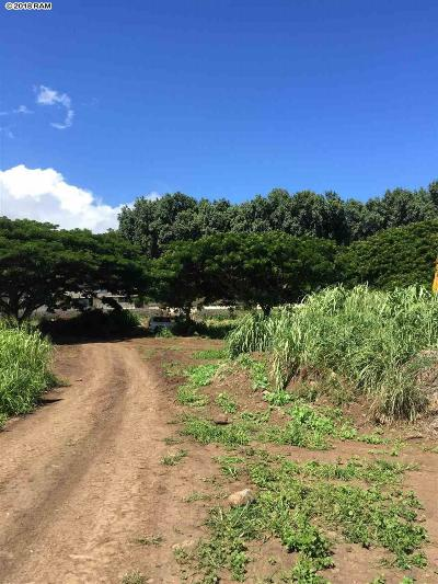 Wailuku Residential Lots & Land For Sale: 1499 Piihana Rd