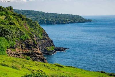 Hana Residential Lots & Land For Sale: Piilani Hwy