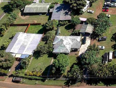 Haiku Single Family Home For Sale: 1235-A W Kuiaha Rd