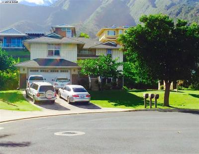 Wailuku Single Family Home For Sale: 19 Paalae Pl