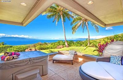 Lahaina HI Single Family Home For Sale: $3,300,000