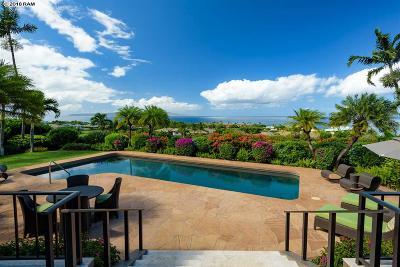 Kihei HI Single Family Home For Sale: $4,925,000