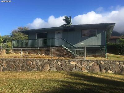 Maui County Single Family Home For Sale: 3 Ualapue Pl #1A
