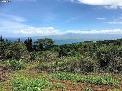 Maui County Residential Lots & Land For Sale: 27 Hulumanu Pl #MCR 35