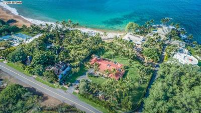 Kihei HI Single Family Home For Sale: $13,200,000