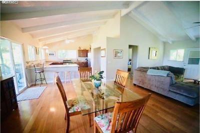 Hana Single Family Home For Sale: 143 Alalele Pl
