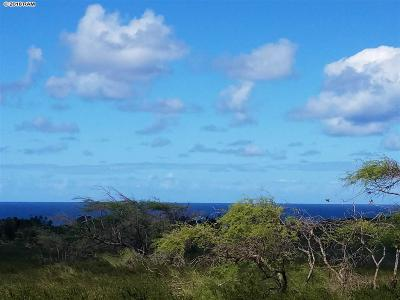Maui County Residential Lots & Land For Sale: 240 Kaluakoi Rd #240