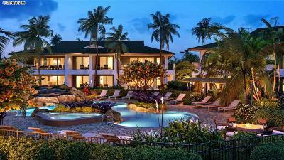 Maui County Condo/Townhouse For Sale: 130 Kai Malina Pkwy #13 A