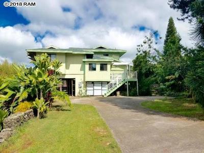 Kula Single Family Home For Sale: 81 Kulalani Cir