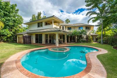 Kihei HI Single Family Home For Sale: $1,950,000