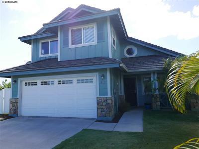 Kahului Single Family Home For Sale: 129 Molehulehu Loop