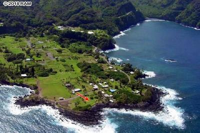 Hana Residential Lots & Land For Sale: Keanae District Rd