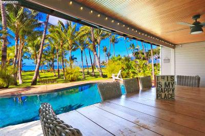 Kihei HI Single Family Home For Sale: $6,700,000