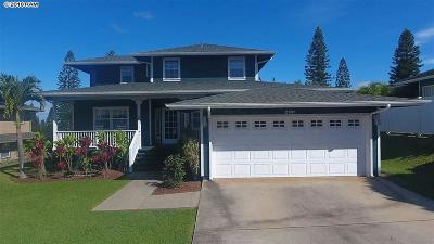 Single Family Home For Sale: 2981 Ainalani Dr