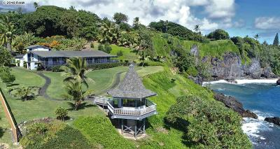 Hana HI Single Family Home For Sale: $3,900,000