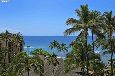Kaanapali Shores Condo/Townhouse For Sale: 3445 Lower Honoapiilani Rd #613