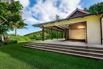 Haiku Single Family Home For Sale: 475 Manawai Pl