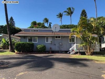 Single Family Home For Sale: 1667 S Kihei Rd #Unit 3
