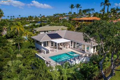 Kihei HI Single Family Home For Sale: $3,250,000