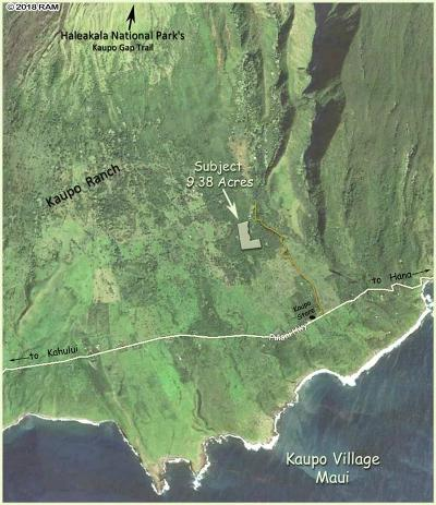 Hana Residential Lots & Land For Sale: Piilani(Kaupo Gap) Hwy