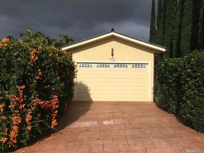 Kula Single Family Home For Sale: 63 Ka Dr