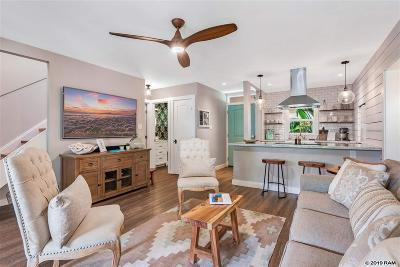 Lahaina HI Condo/Townhouse For Sale: $1,195,000