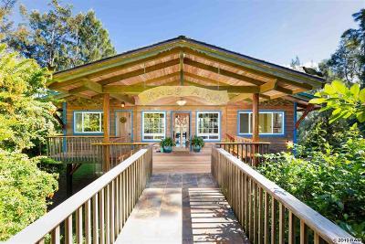 Haiku Single Family Home For Sale: 235 Heaaula Pl