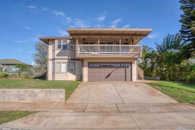 Single Family Home For Sale: 491 Kaiola St