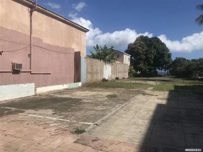 Wailuku Residential Lots & Land For Sale: 158 N Market St