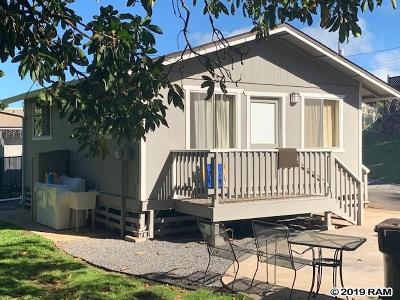 Makawao Single Family Home For Sale: 40 Kumano St #B