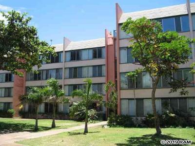 Maui County Condo/Townhouse For Sale: 111 Kahului Beach Rd #D407