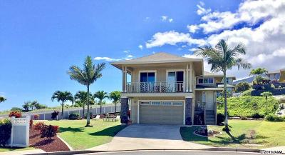 Wailuku Single Family Home For Sale: 5 Maka Hou Pl