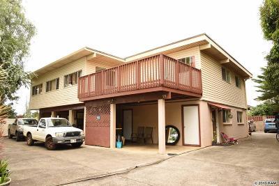 Makawao Single Family Home For Sale: 95 Kealaloa Ave