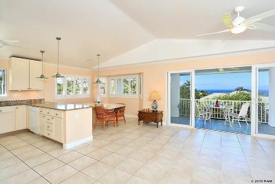 Maui County Single Family Home For Sale: 3367 W Lani Ikena Way