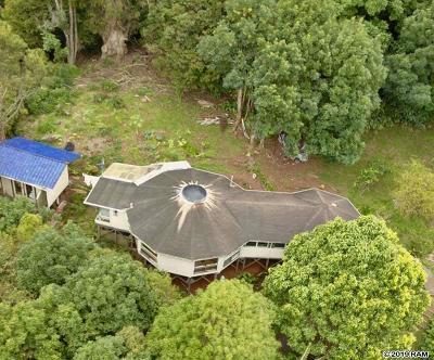 Makawao Single Family Home For Sale: 400 Waiahiwi Rd
